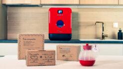 Bob mini lave vaisselle Made in France Daan Tech Premium Pack Edition Rouge toutes options lave-vaisselle design