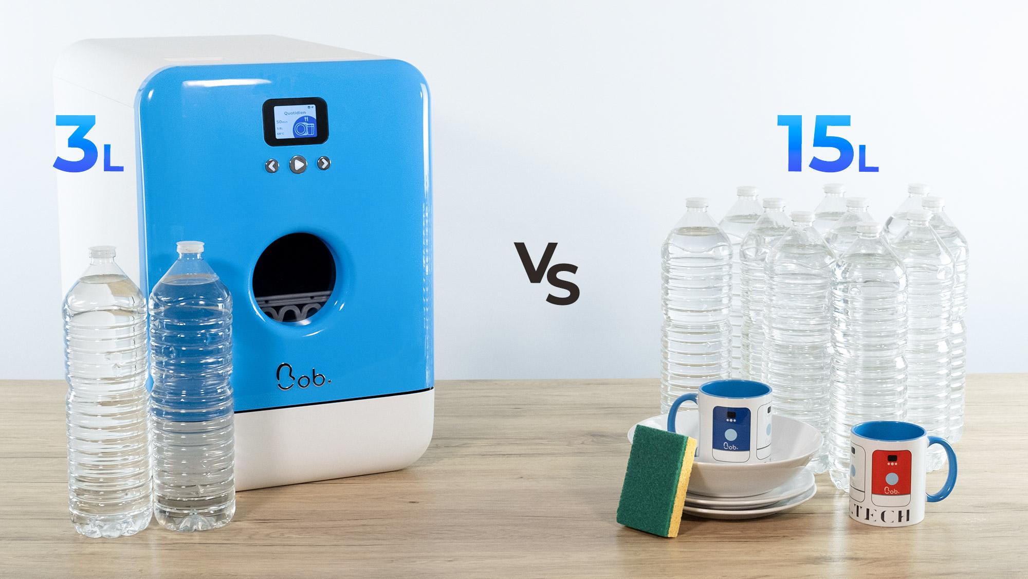 Comparatif économe Bob le mini lave-vaisselle 2.9 litres lavage main 15 litres