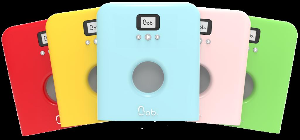 eventaille 12 couleurs de porte bob mini lave-vaisselle