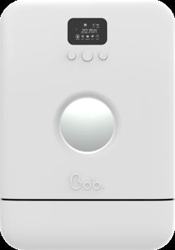 Bob minimalist le mini lave vaisselle vue de face edition blanc